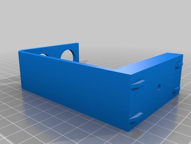 简易牙刷架 3D模型  图2
