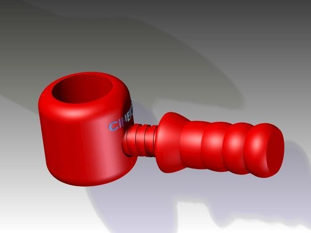 胡桃钳 3D模型  图3