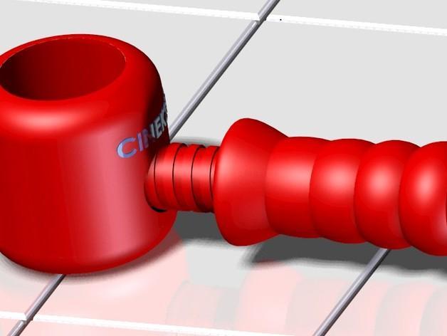 胡桃钳 3D模型  图2