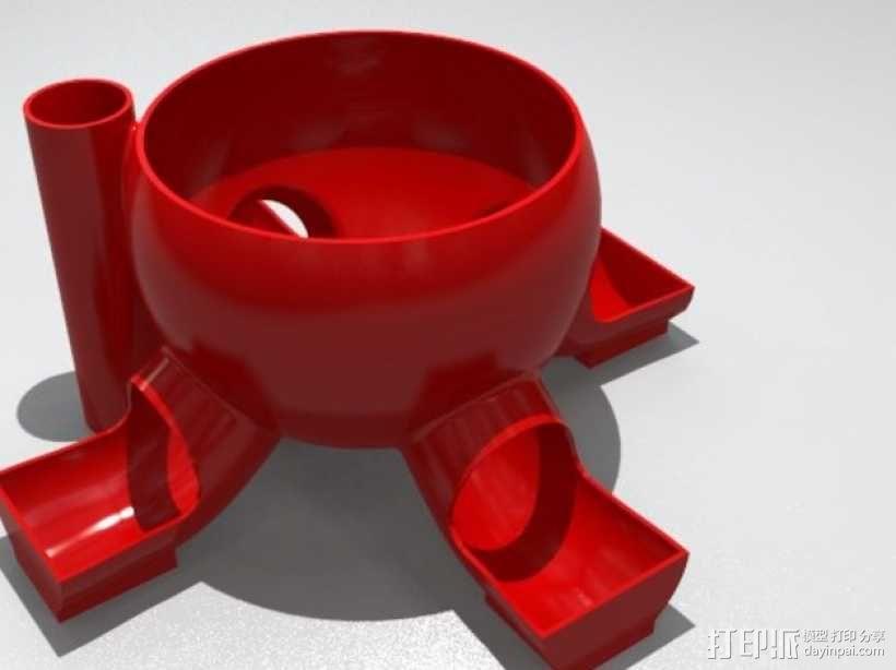 橄榄/糖果分发器 3D模型  图1