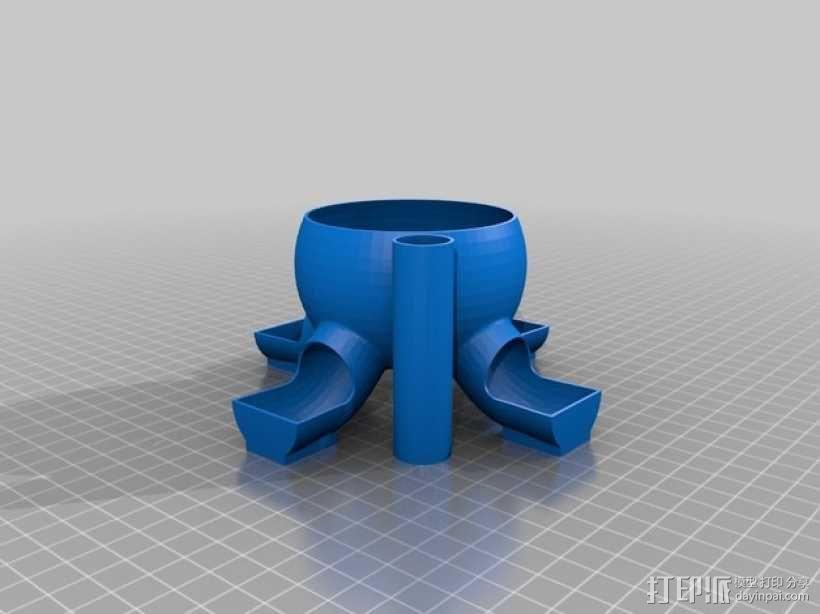 橄榄/糖果分发器 3D模型  图2