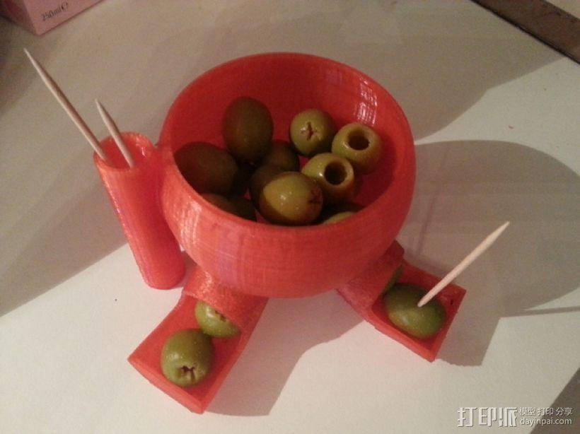 橄榄/糖果分发器 3D模型  图4