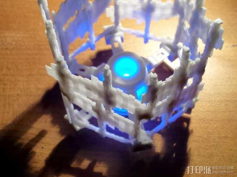 十二面体灯罩 3D模型  图1