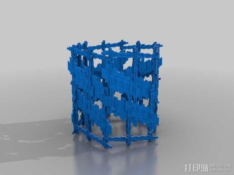 十二面体灯罩 3D模型  图3