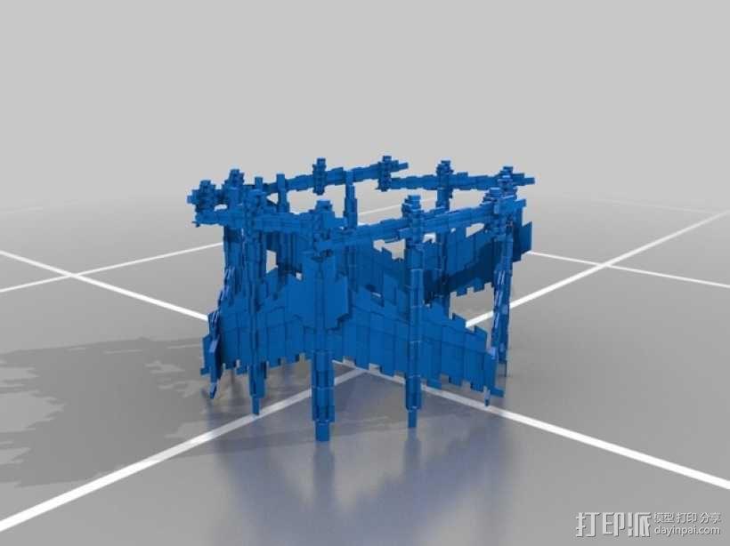 十二面体灯罩 3D模型  图4