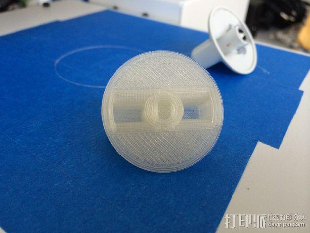 通用洗碗机/烘干机按钮 3D模型  图4
