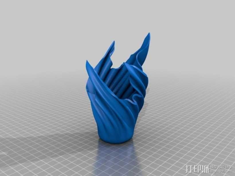 幽灵花瓶 3D模型  图2