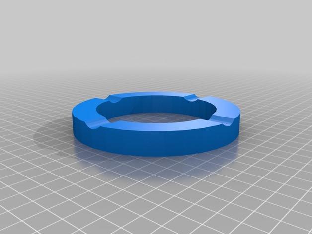 个性化咖啡罐烟灰缸 3D模型  图4