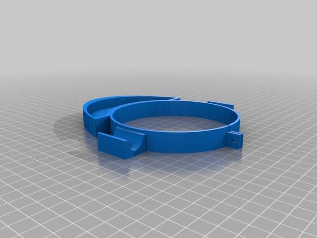 个性化咖啡罐烟灰缸 3D模型  图3