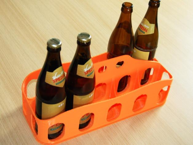 啤酒/汽水饮料架 3D模型  图1