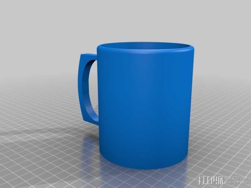 简易咖啡杯 3D模型  图1