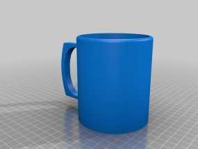 简易咖啡杯 3D模型