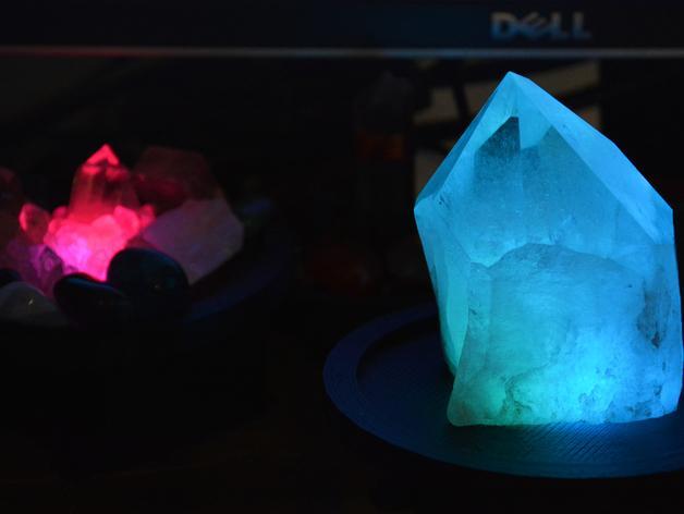 RGB水晶LED灯 3D模型  图2