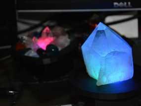 RGB水晶LED灯 3D模型