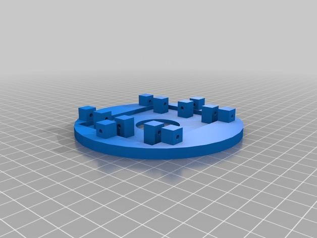 RGB水晶LED灯 3D模型  图5