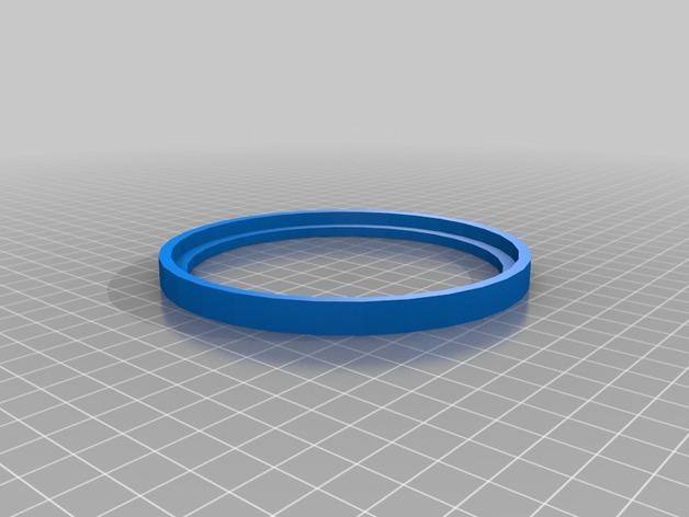 RGB水晶LED灯 3D模型  图4