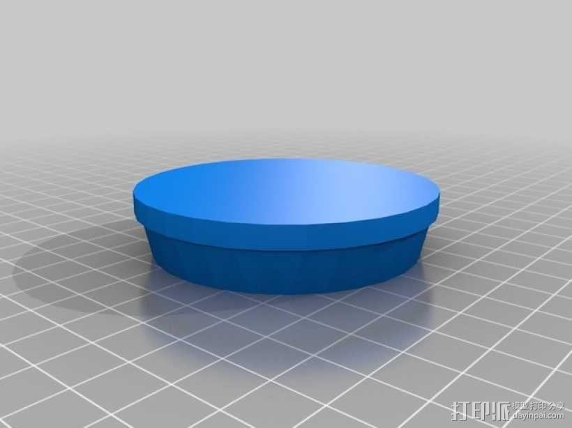 沙滩烟灰缸 3D模型  图2