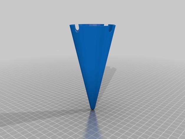 沙滩烟灰缸 3D模型  图4