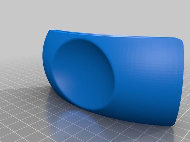 圆弧形小饰品底座 3D模型  图4