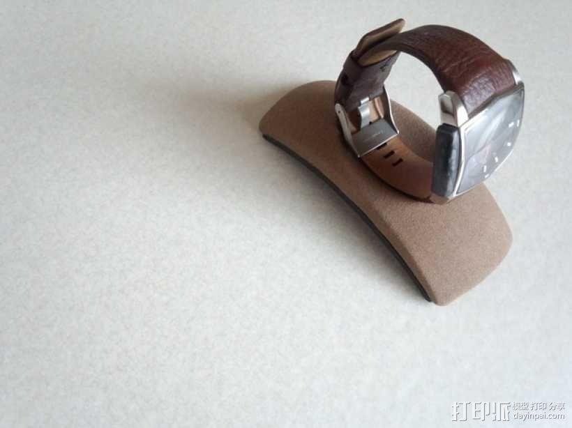 圆弧形小饰品底座 3D模型  图1
