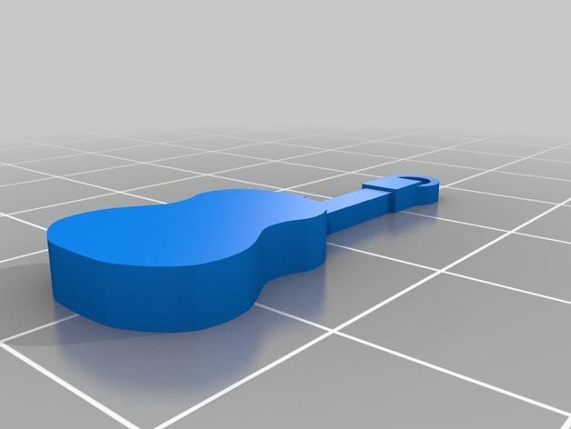 西班牙风格的酒杯挂件 3D模型  图2