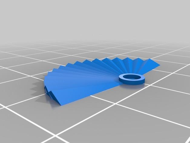 西班牙风格的酒杯挂件 3D模型  图4