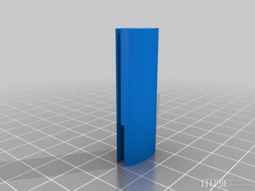 圆柱形陈列架 3D模型  图3