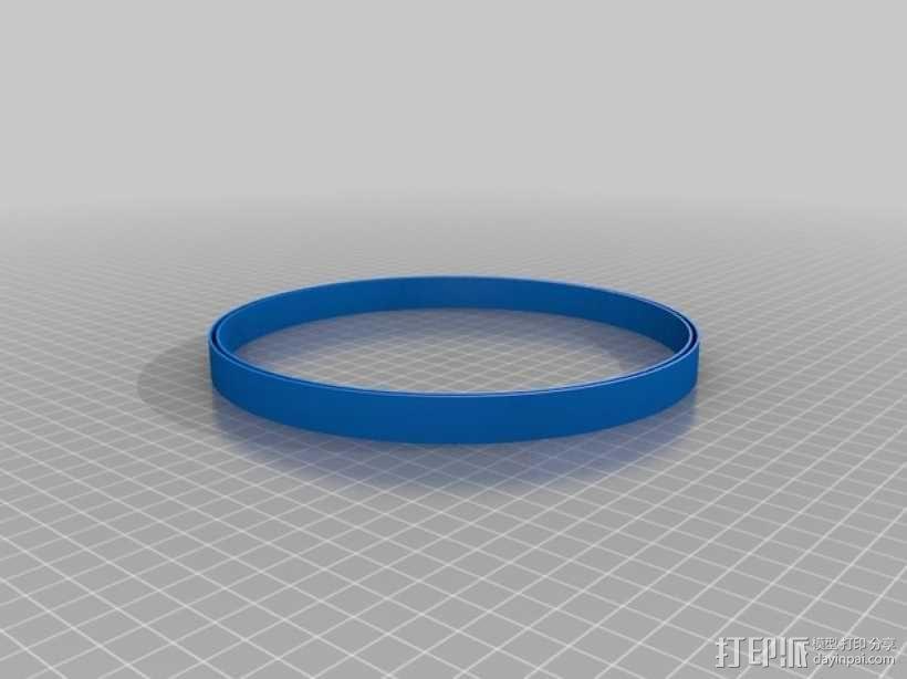 圆柱形陈列架 3D模型  图5