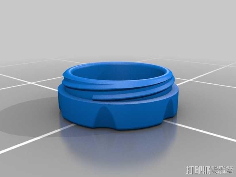 Senseo沁心浓咖啡软包罐 3D模型  图3