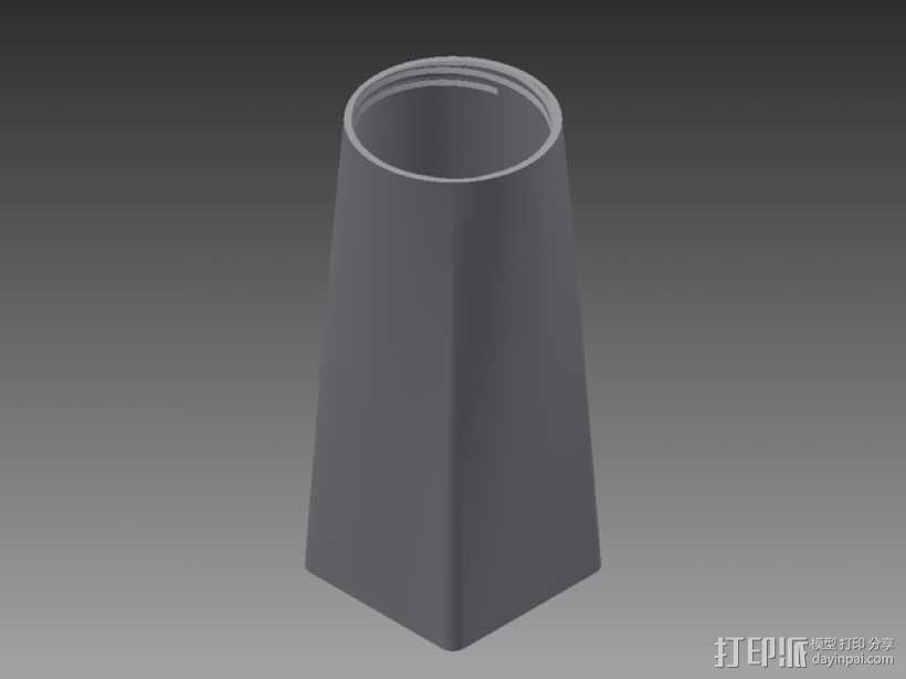 Senseo沁心浓咖啡软包罐 3D模型  图7