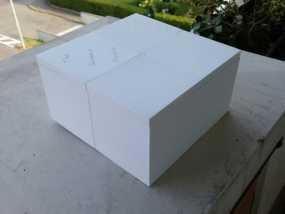 六分仪收纳盒 3D模型