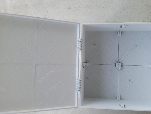 六分仪收纳盒 3D模型  图3