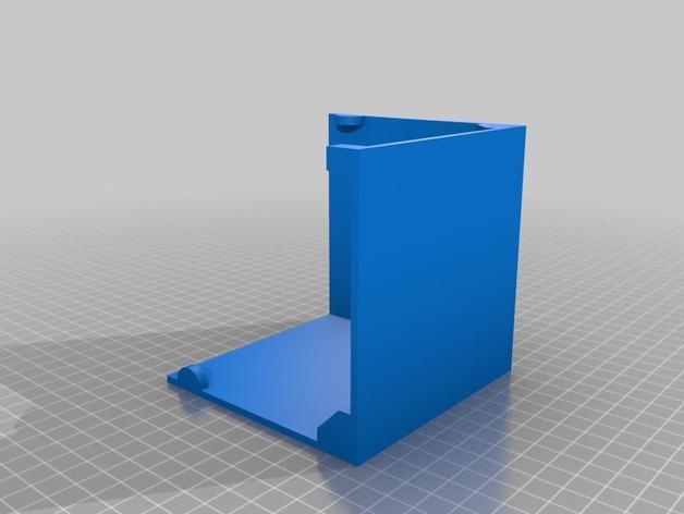 六分仪收纳盒 3D模型  图7