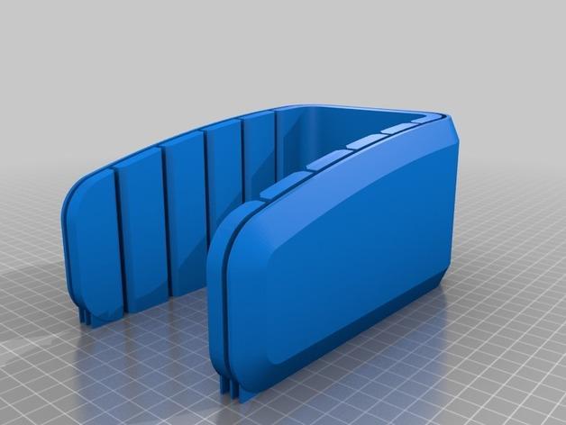 双层小饰品陈列架 3D模型  图5