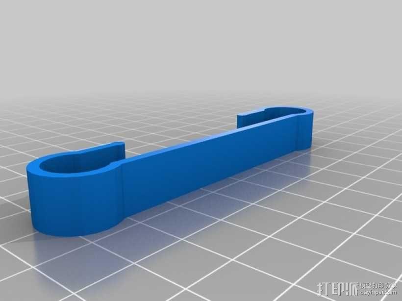 定制化袜子夹 3D模型  图4