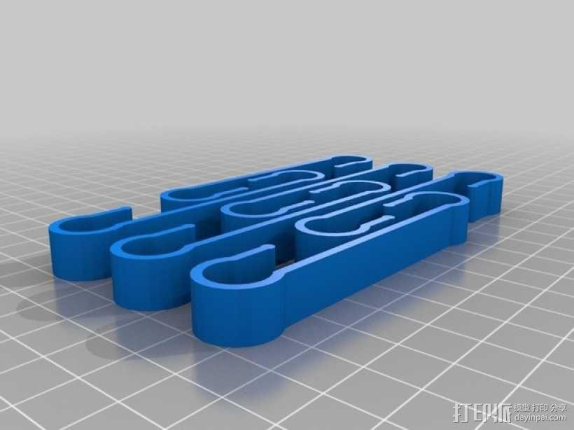 定制化袜子夹 3D模型  图5