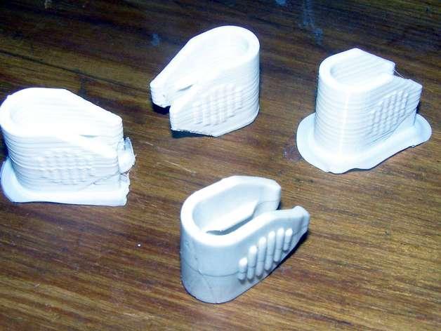 绕线夹/绕线器 3D模型  图1