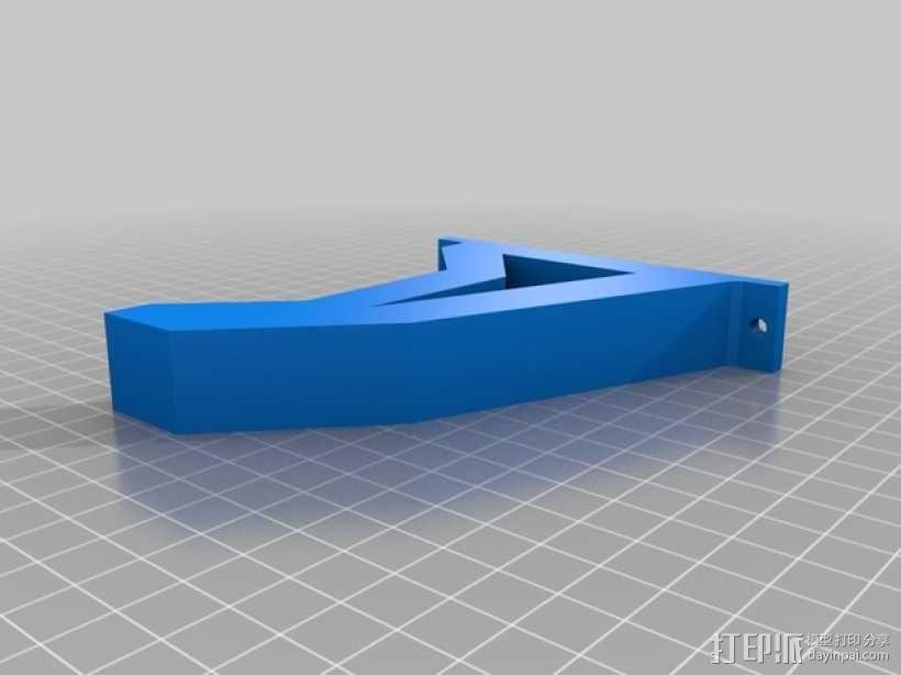 锯木架挂钩 3D模型  图4