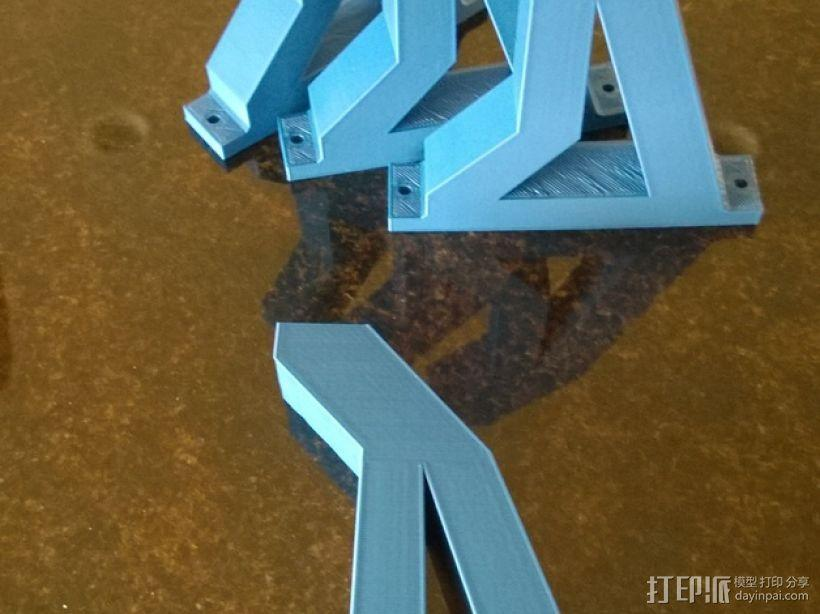 锯木架挂钩 3D模型  图5