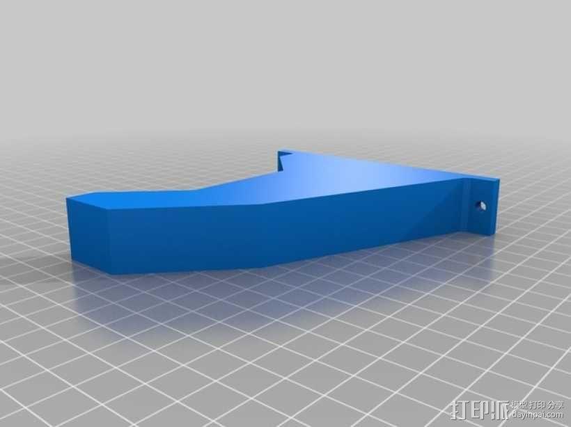 锯木架挂钩 3D模型  图8