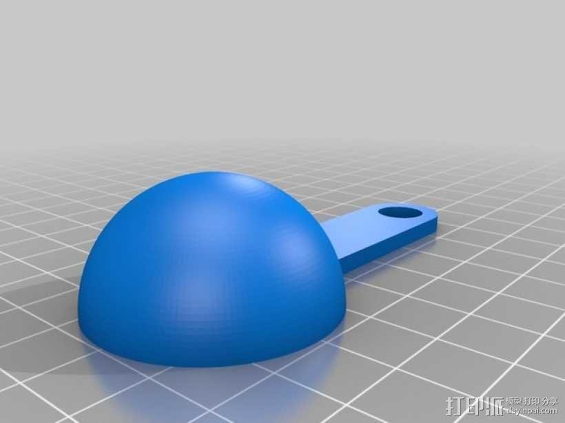 参数化计量勺  3D模型  图2
