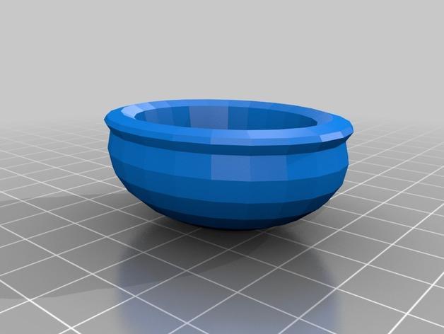 墨西哥传统盘子Cazuela 3D模型  图2