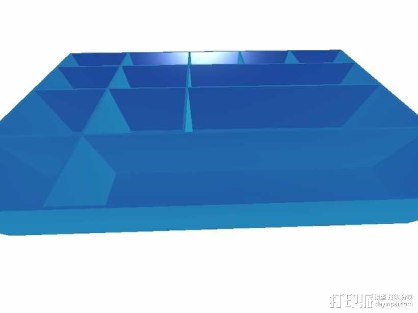 迷你工具收纳箱 3D模型  图2