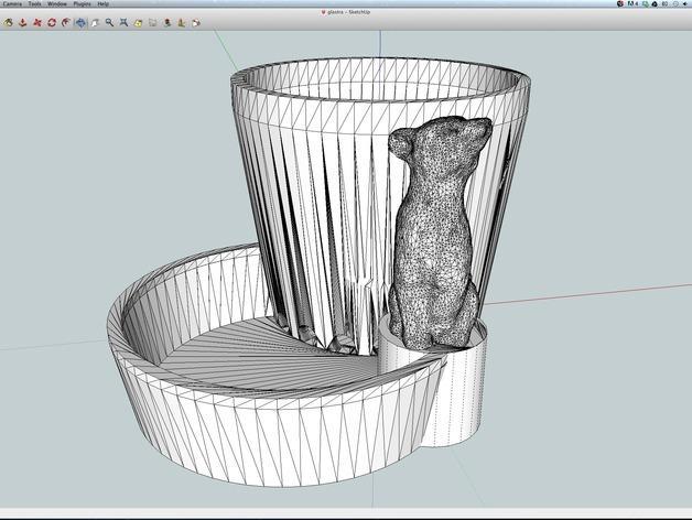 多功能花盆 3D模型  图5