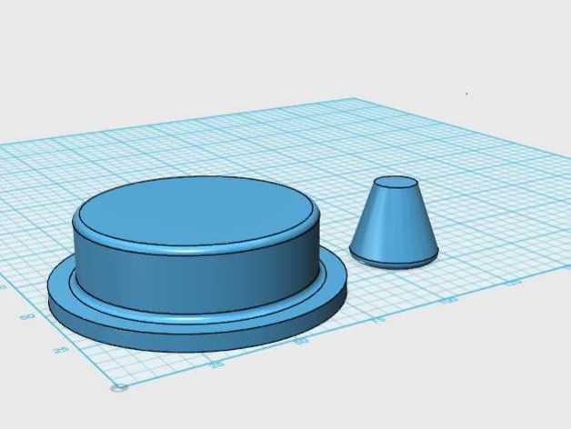 汉堡肉饼制作模具 3D模型  图4