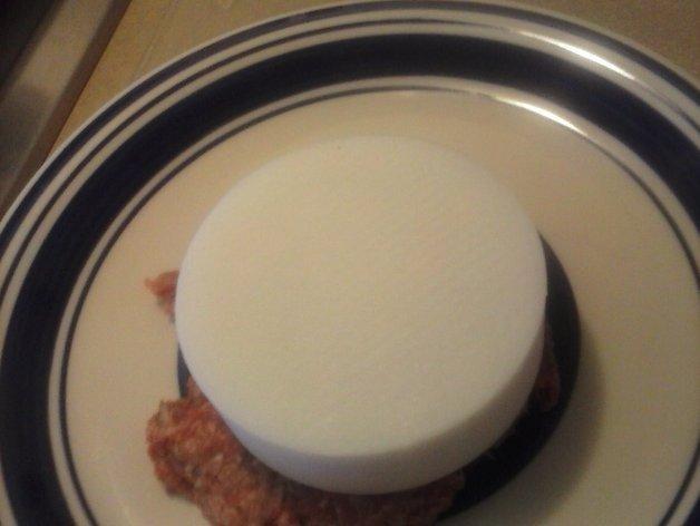 汉堡肉饼制作模具 3D模型  图6