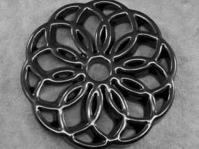 圆环形装饰品 3D模型