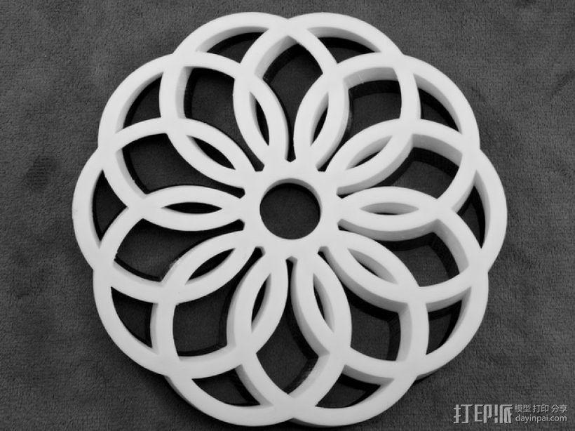 圆环形装饰品 3D模型  图5