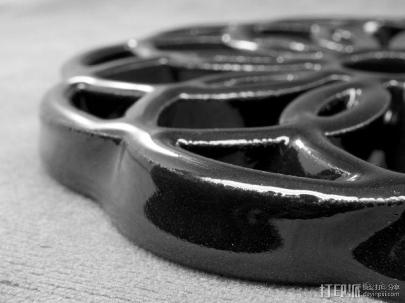 圆环形装饰品 3D模型  图3