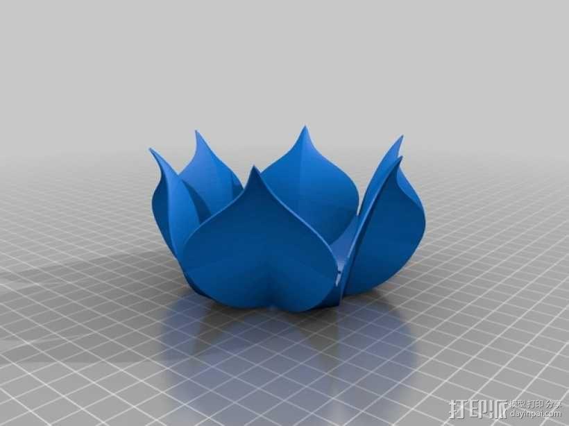 莲花碗 3D模型  图1